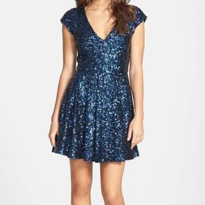 French Connection Spectacular Sparkle Dress